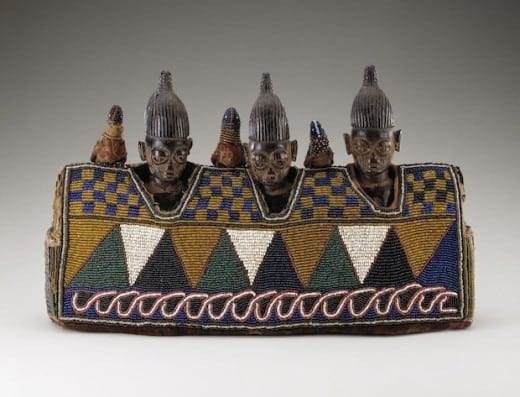Female figures (ere ibeji), Yoruba peoples, Nigeriam early to mid-20th century. National Museum of African Art, Smithsonian Institution. (Photo by Franko Khoury)