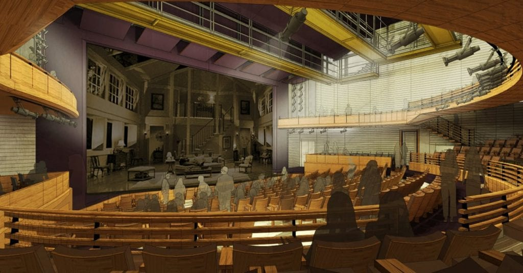 The Alliance's new theater will