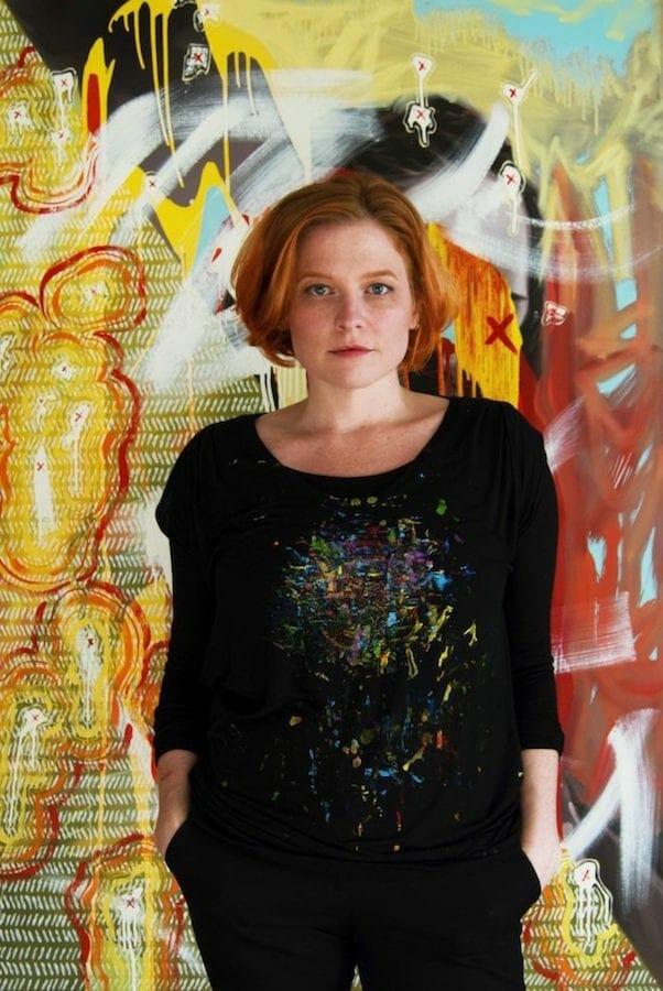 Atlanta performance artist Amanda Grae Platner.