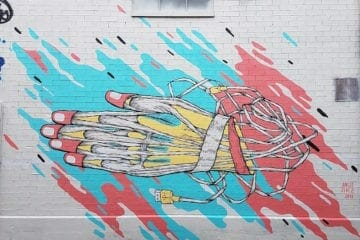 Angie Jerez MET Atl mural