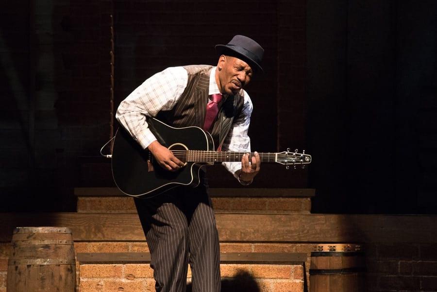 Anthony David in Chasin' Dem Blues. (Photo by Josh Lamkin)
