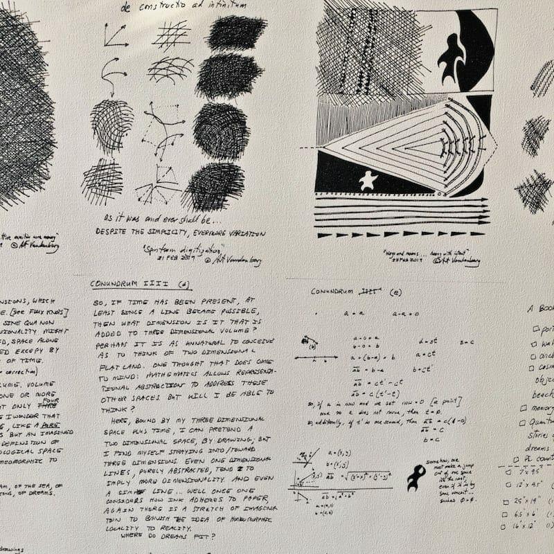 Art Vandenberg sketchbook. Jan 2020