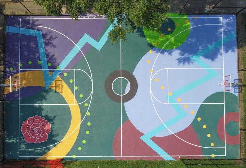 Artsy Elaine Rose Circle Park