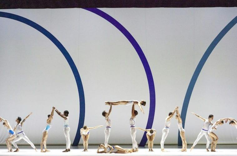 Atlanta Ballet artists dancing.