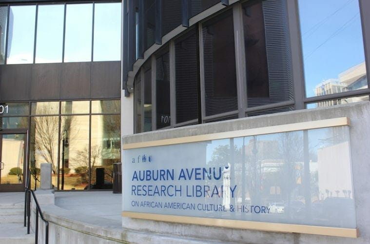 Auburn Avenue Research Library Feb 2020