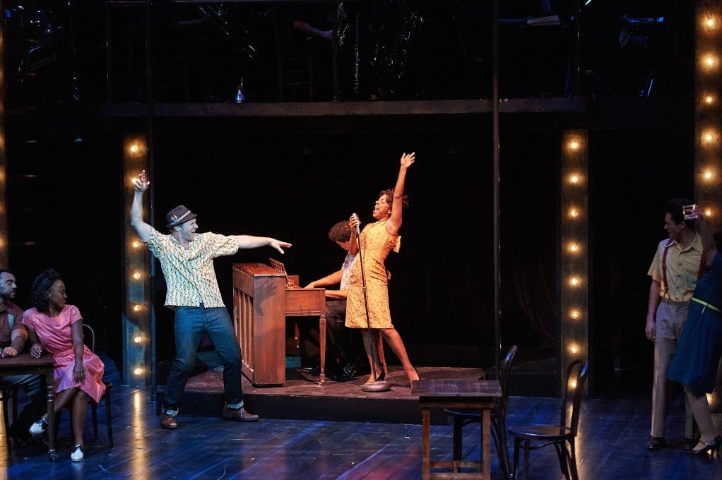 The Theatrical Outfit's Memphis garnered 13 Suzi Award nominations. (Photo by Chris Bartelski)