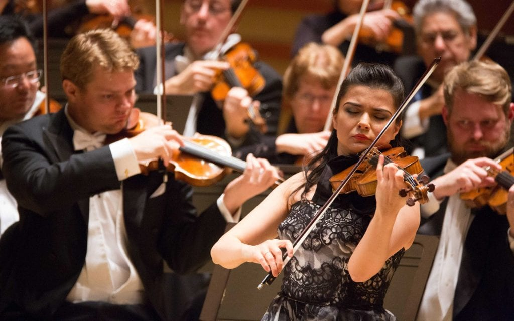 Karen Gomyo was much more impressive than in her 2012 debut with the ASO.