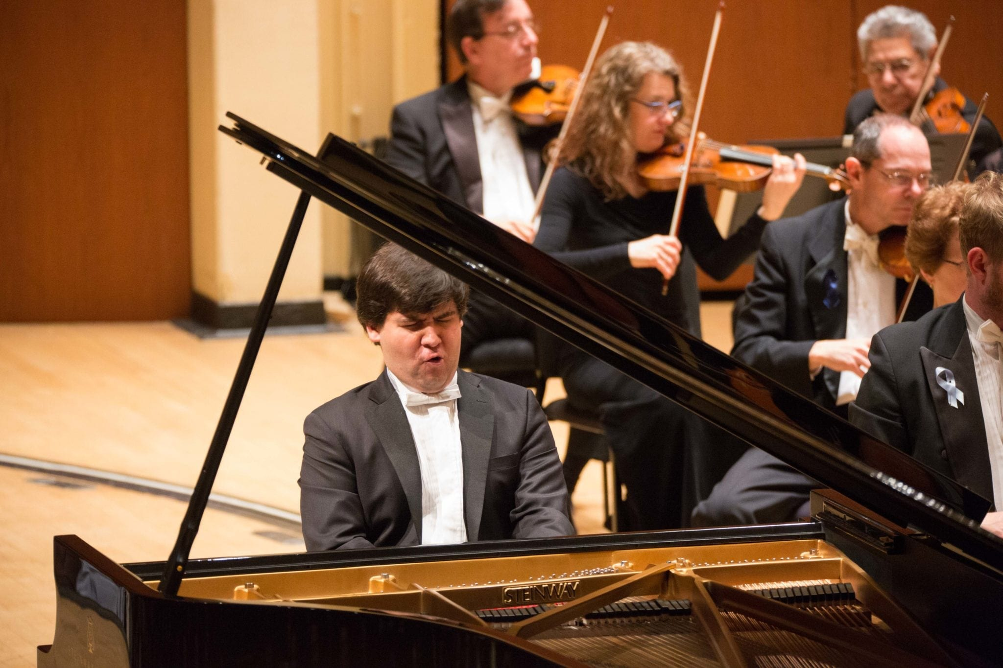 Pianist Vadym Kholodenko was impressive in his ASO debut.
