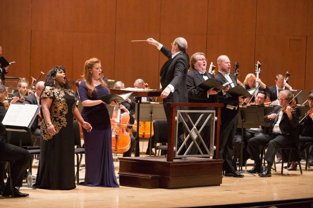"Robert Spano takes on one of Shaw's favorite pieces: Verdi's ""Requiem."" (Photo by Jeff Roffman)"