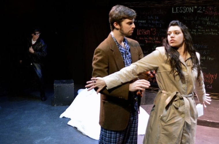 "Review: Kudos to Fern Theatre for trying, but quirky ""Baltimore Waltz"" has  two left feet"