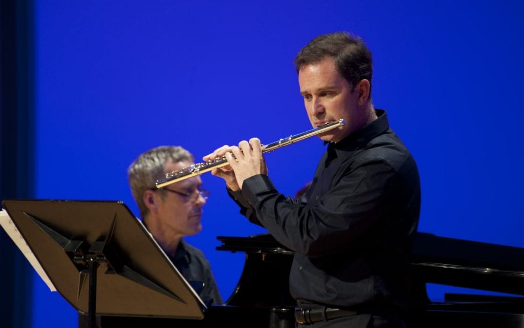 Peter Marshall and Robert Cronin at KSU's Festival of New Music