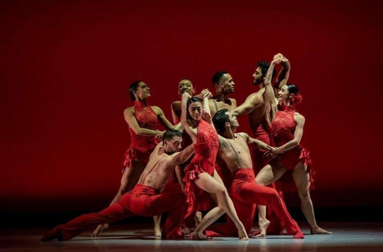 Dancers from Ballet Hispanico perform.