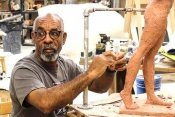 MLK sculptor Basil Watson FEB 2021