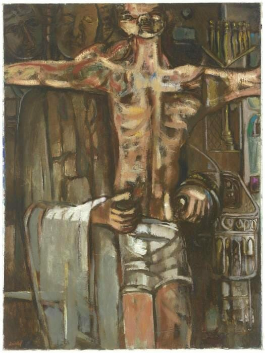 """Behold Thy Son"" by David C. Driskell"