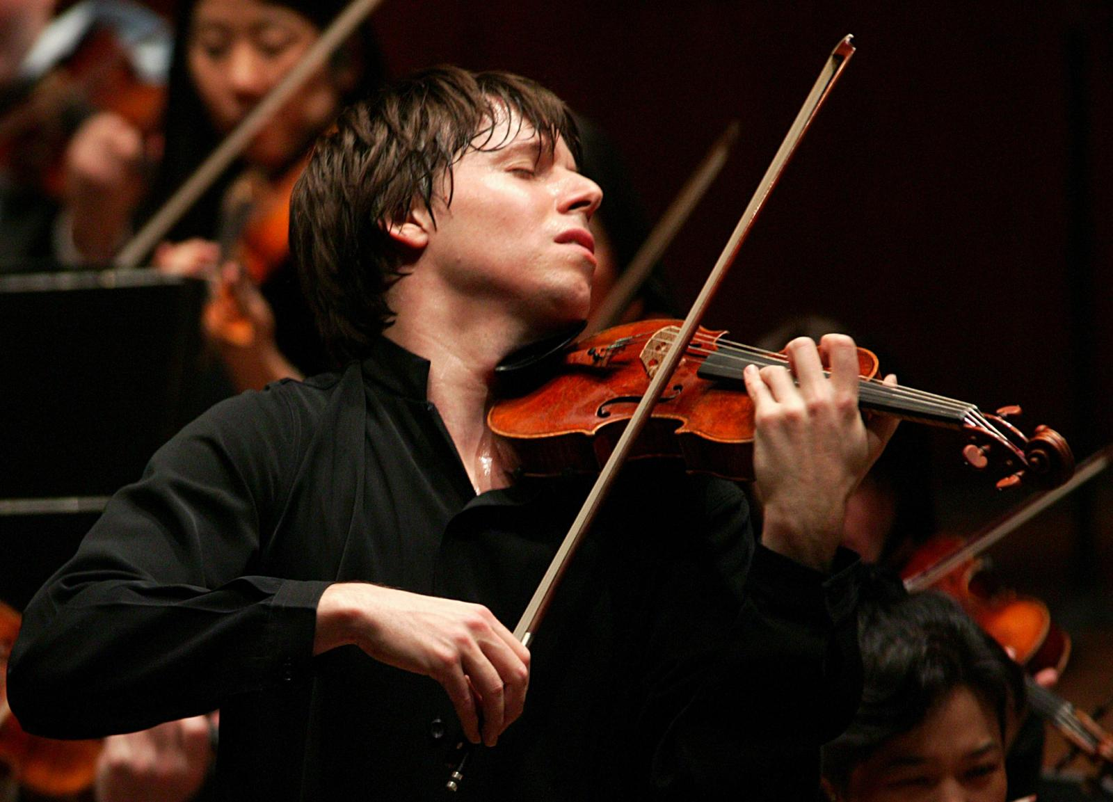 Joshua Bell has become the most acclaimed violinist of his generation. (Photo by Chris Lee)