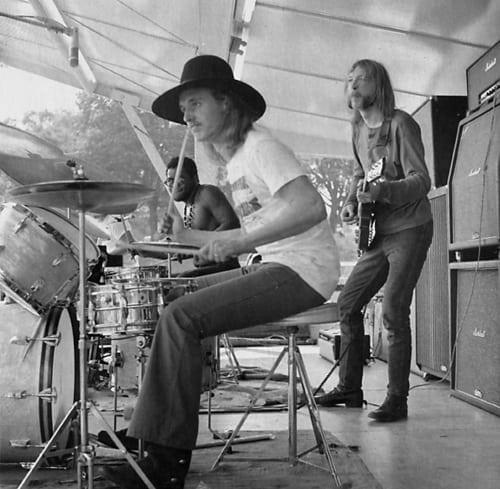 Butch Trucks with Duane Allman.
