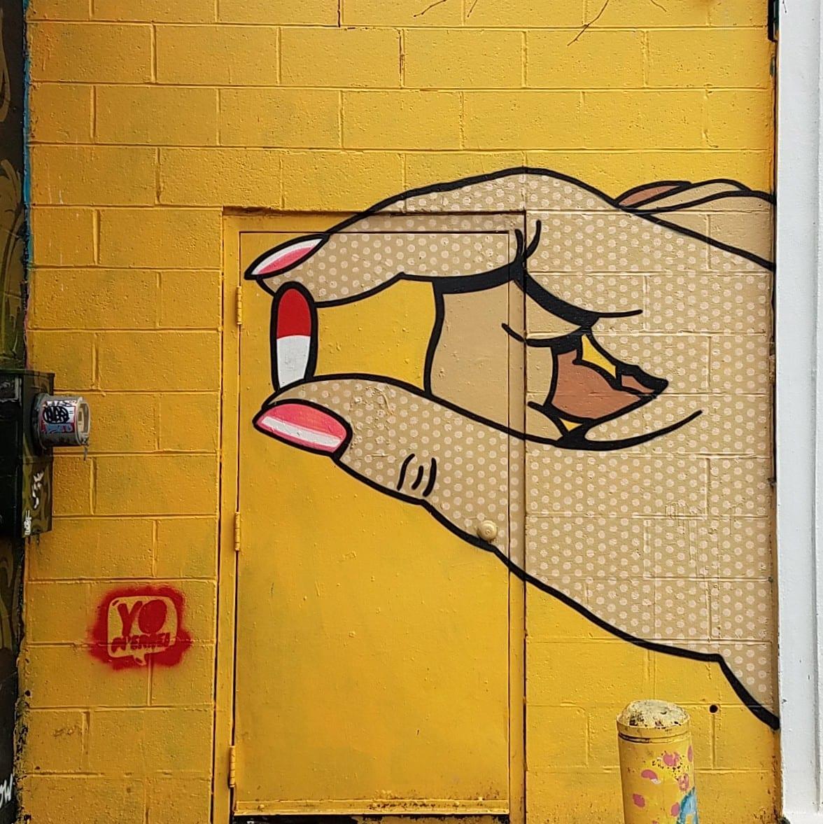 This week in street art: Satirist Chris Veal and his ''art