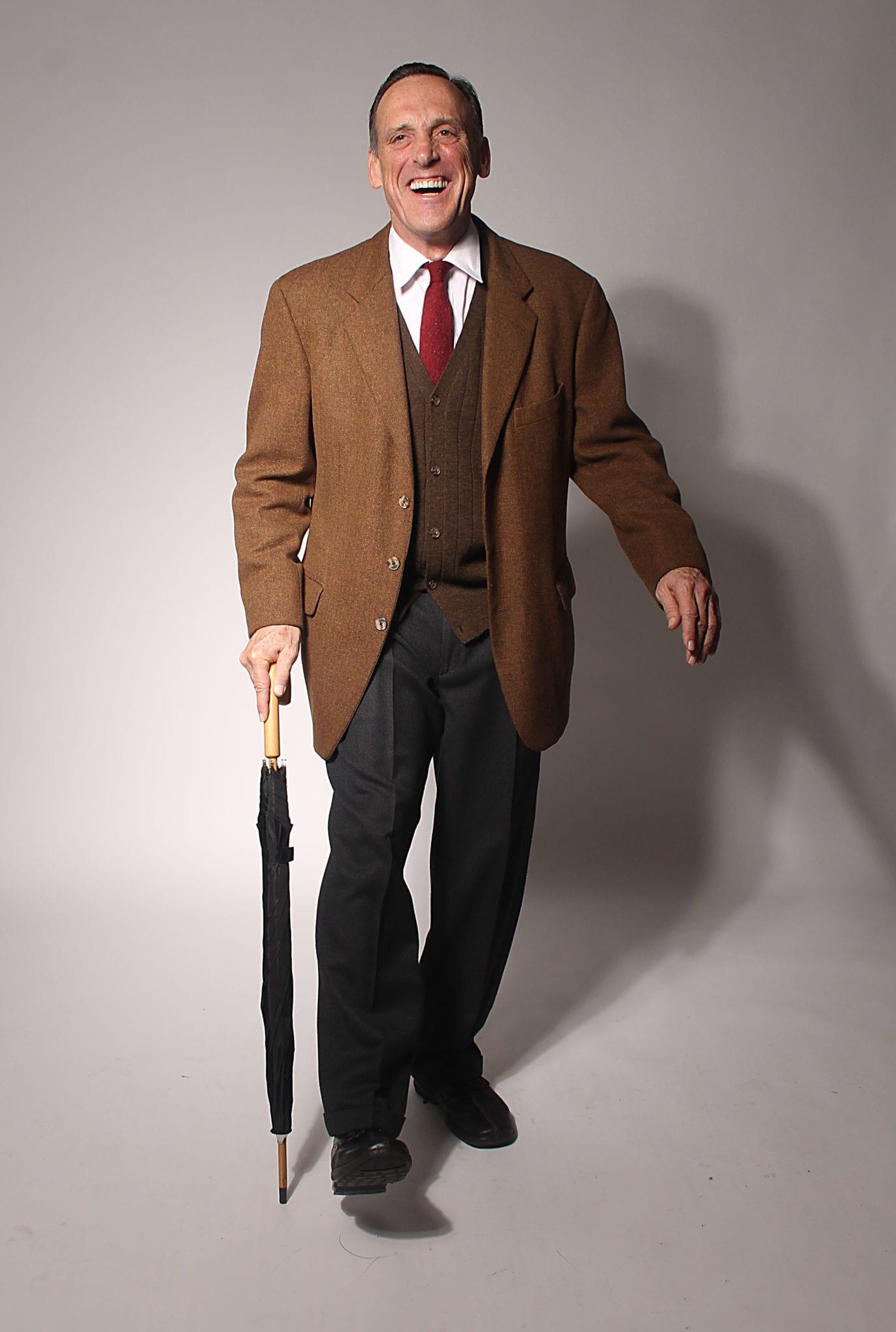 Tom Key as C. S. Lewis. Photo by BreeAnne Clowdus.
