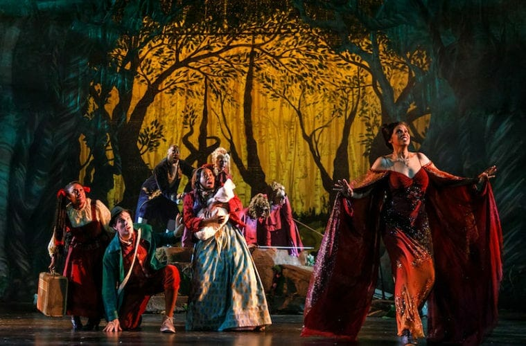 Into the Woods city springs july 2021