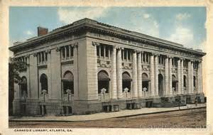 Atlanta's Carnegie Library. Image courtesy Wiki Commons.