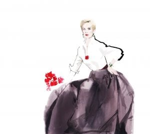 Designer Carolina Herrera has designed red carpet gowns for a diverse group of Hollywood stars, including Lupita Nyong'o, Lucy Lui, Jessica Simpson and Lady Gaga.