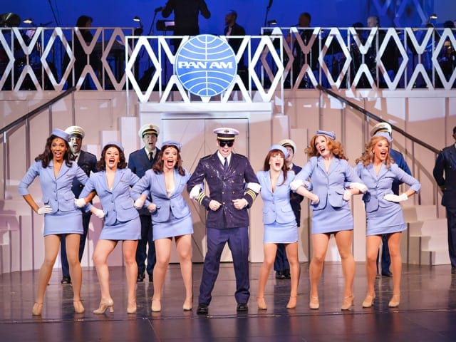 Catch Me If You Can is partially set in Atlanta. (Photo courtesy Atlanta Lyric Theatre)
