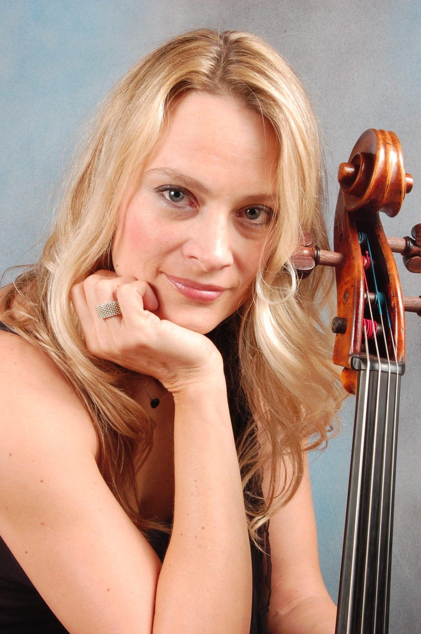 Cellist Charae Krueger