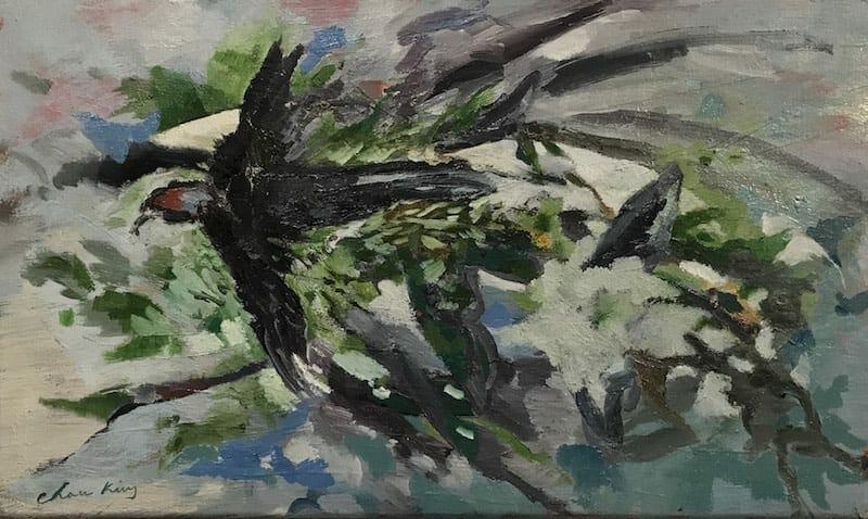 Chase King painting. Jan 2020