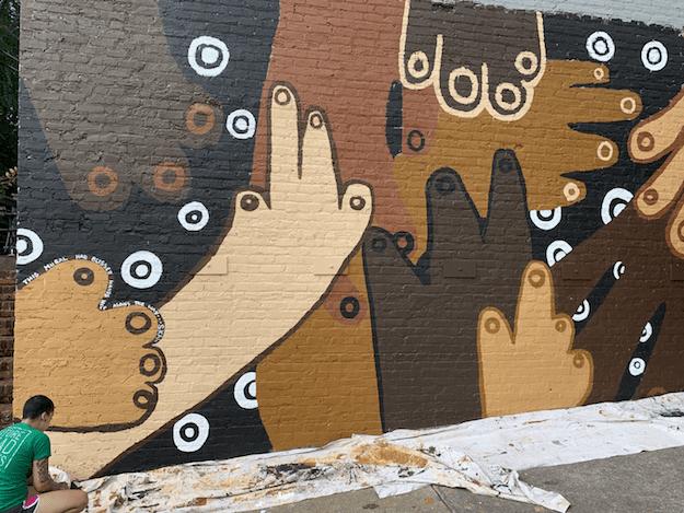 Street art Civil Walls Project Oct 2020
