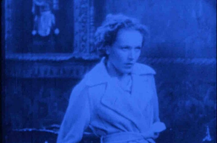 Scene from Joseph Cornell Rose Hobart Film