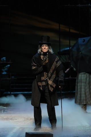 "Chris Kayser in the Alliance Theatre's ""A Christmas Carol"""