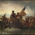 Emanuel Leutze: Washington Crossing the Delaware, 1851.