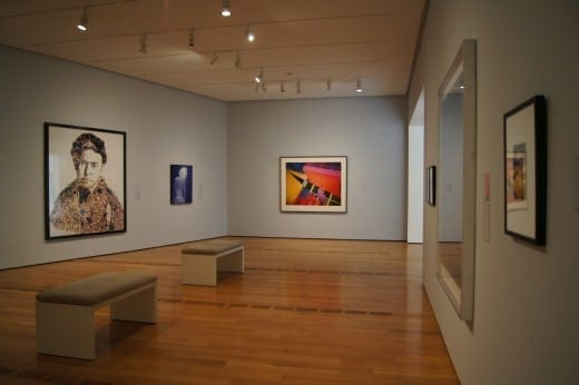 View  of the new  Lucinda Weil Bunnen Gallery for Photography at the HIgh Museum.