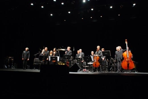 Sonic Generator performing with the Orchestre national de Lorraine at the Ferst Center.  Courtesy Orchestre national de Lorraine.