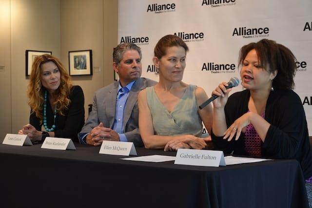 Lane Carlock (left to right), Brian Kurlander, Ellen McQueen and Gabrielle Fulton. (Photos by Kathleen Covington)