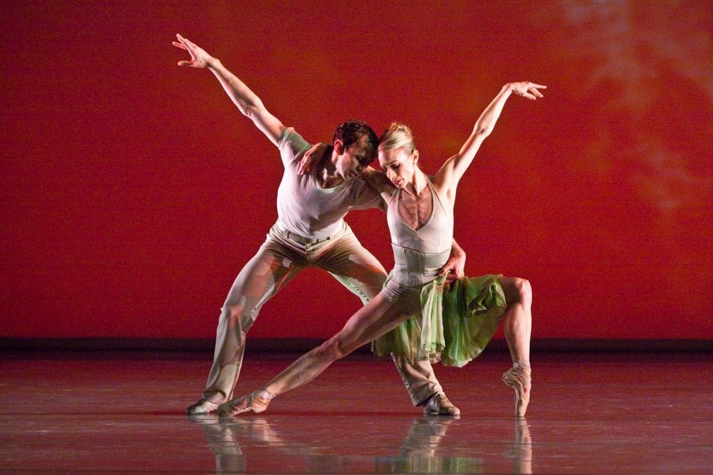 Welker and his wife, Christine Winkler, dance in James Kudelka's The Four Seasons.