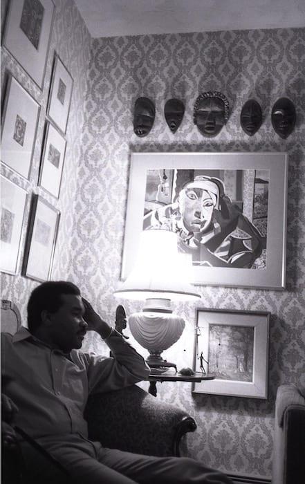 David C. Driskell at home