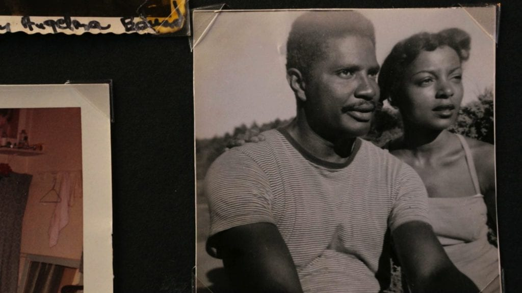 Ossie Davis and Ruby Dee from their family scrapbook.
