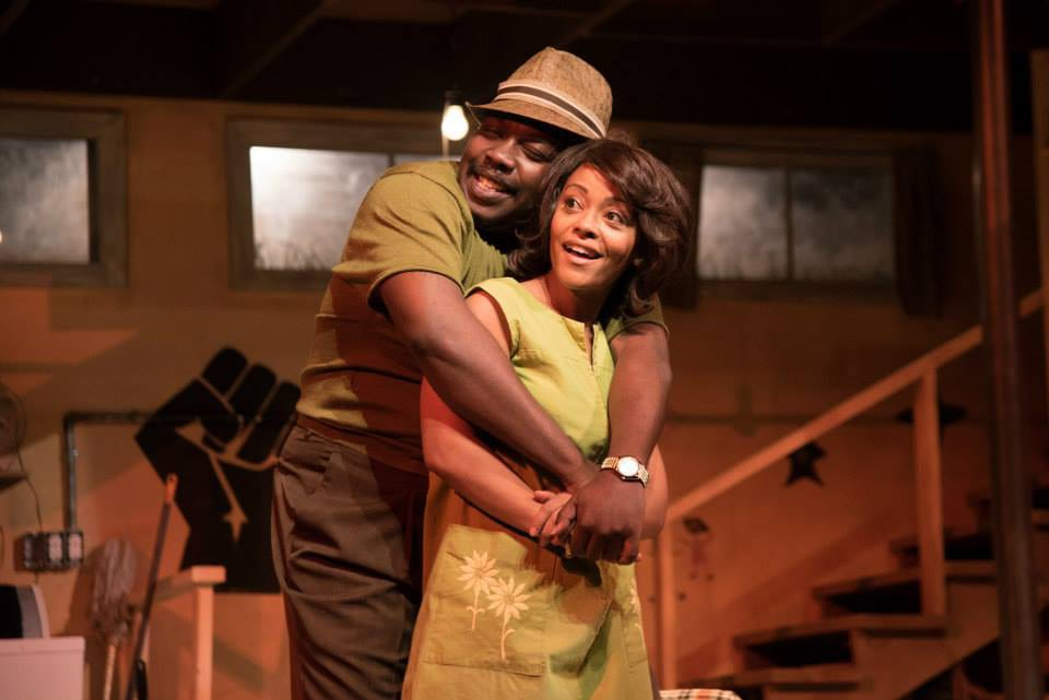 "Actors on stage for ""Detroit 67"" at Kenny Leon's True Colors Theatre Company"