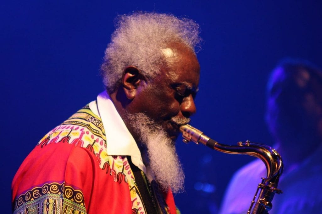 Pharaoh Sanders headlines this year's Atlanta Jazz Festival.