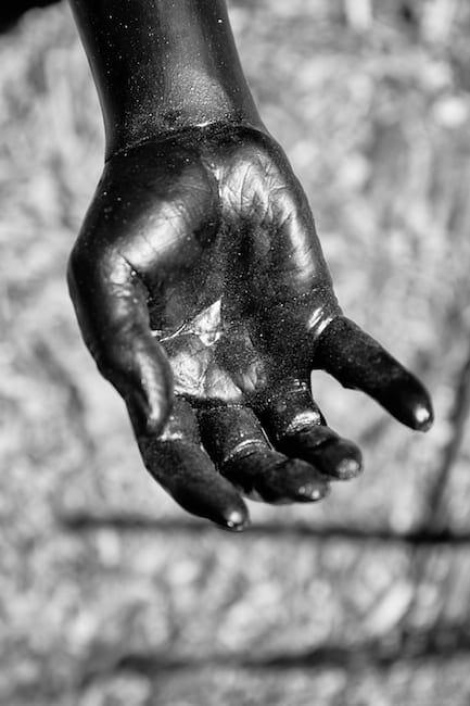 "Masud Olufani's ""ELDER"" in Freedom Park, June 2020."