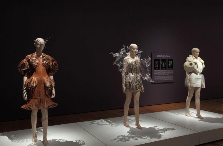 Review Dazzling Exhibit Of Avant Garde Fashion Designer Iris Van Herpen Brims With Ideas Arts Atl