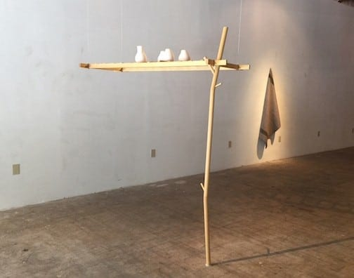 Martha Whittington: FPBS (First People burial scaffold). Courtesy of the artist.
