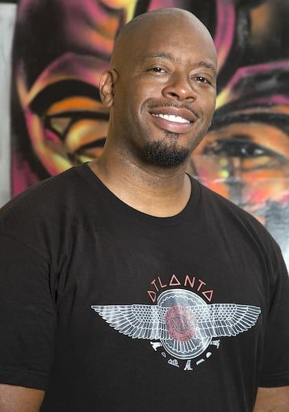Atlanta street artist Fabian Williams
