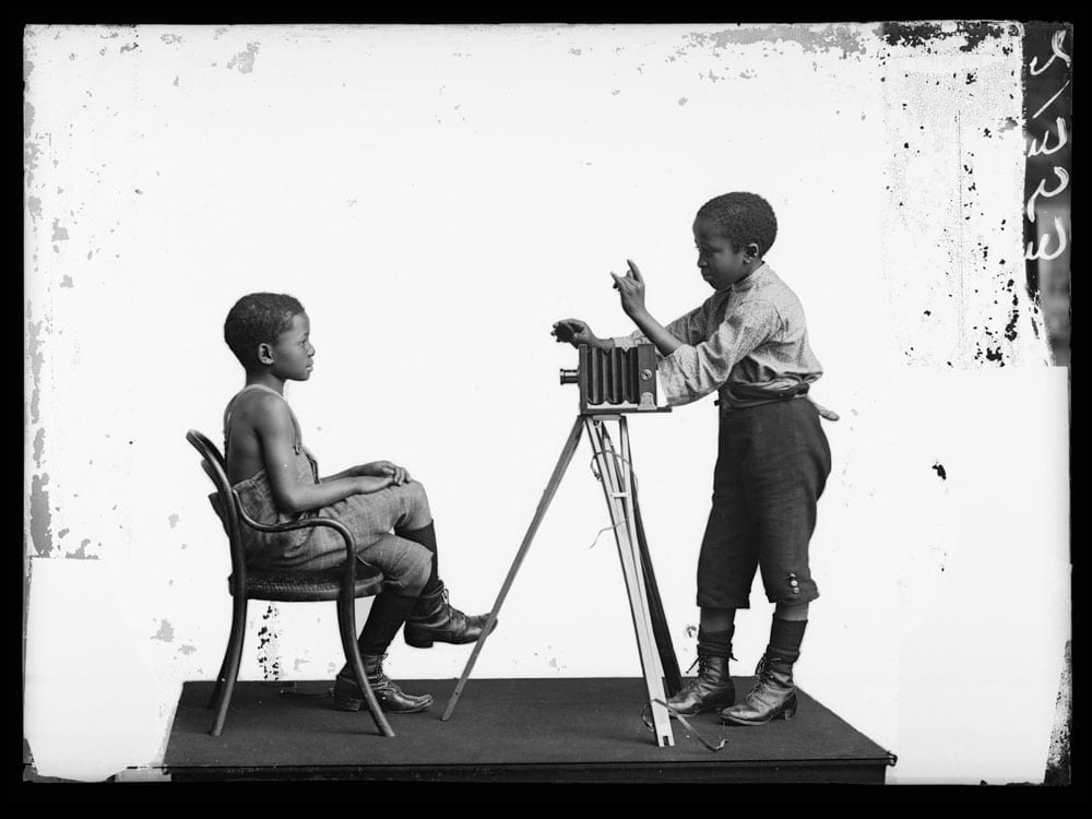 Albert Jonas and John Xiniwe, of The African Choir. London Stereoscopic Company, 1891. Courtesy of ©Hulton Archive/Getty Images