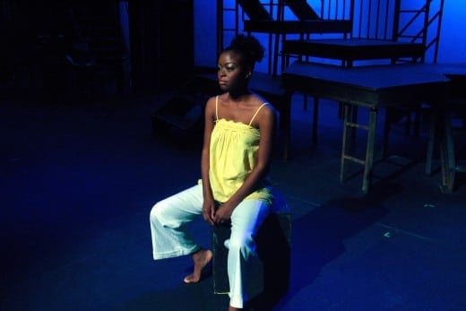 Deadwyler' in  For Colored Girls who have Considered Suicide/when the rainbow is enuf at True Colors Theatre. (Photo by Horace Henry)