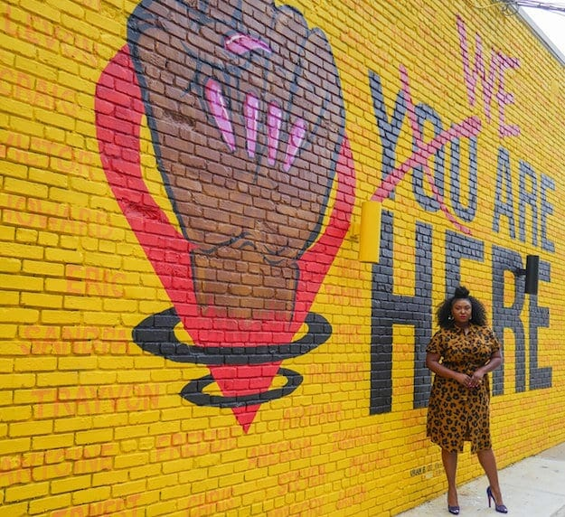 Street art Civic Walls Project Oct 2020