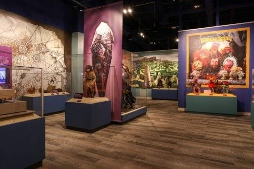 Gallery devoted to Jim Henson's Fraggle Rock. (Photo by Sarah Hannah)