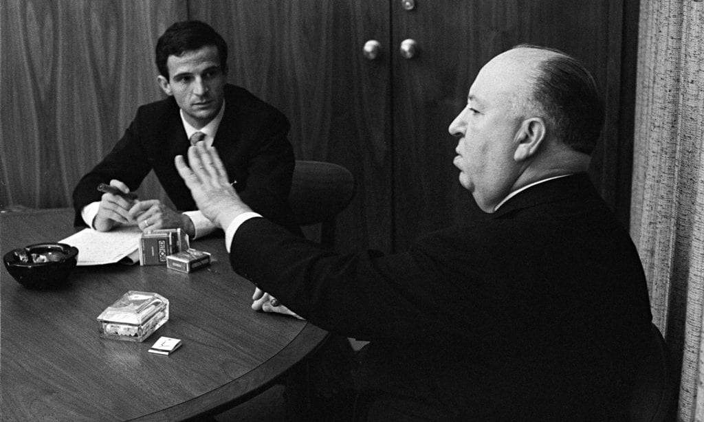 When Truffant met Hitchcock, it was time for cigarettes and deep conversation.