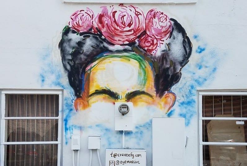 Frida Kahlo murals